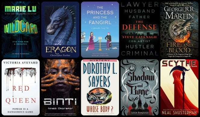 down the tbr hole wildcard warcross eragon george r r martin fire and blood a game of thrones red queen shadow nad bone scythe book books review diary of difference diaryofdifference