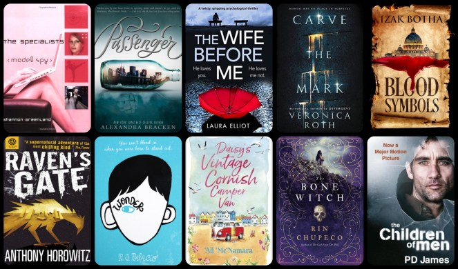 down the tbr hole diary of difference diaryofdifference books the bone witch rin chupeco ali mcnamara wonder veronica roth blood symbols the children of men pd james goodreads blog blogging