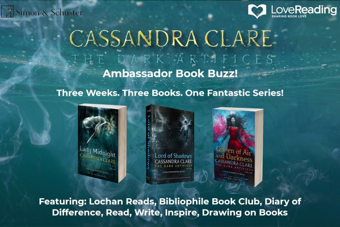 cassandra clare lady midnight the dark artifices shadowhunter love reading book books review diaryofdifference diary of difference lord of shadows queen of air and darkness