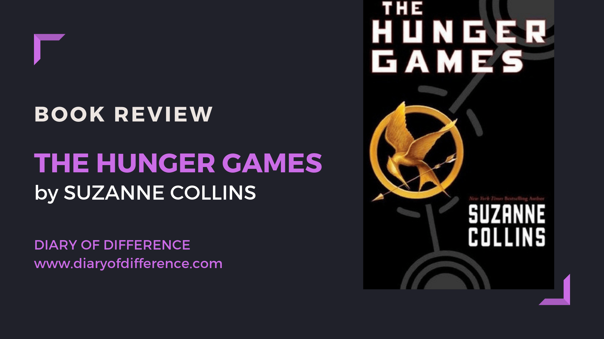 The Hunger Games Suzanne Collins Diary Of Difference