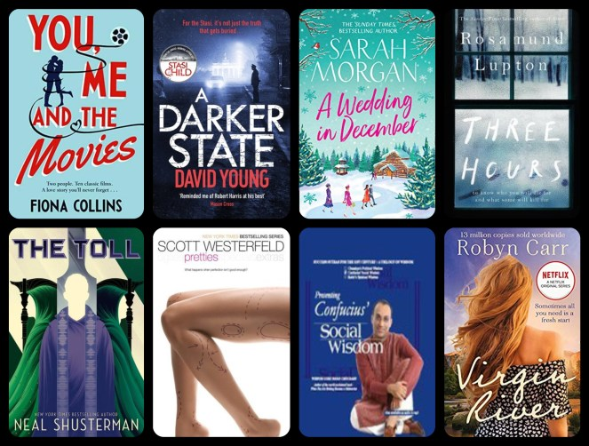 december tbr edition the toll three hours rosamund lupton virgin river pretties uglies scott westerfeld wedding in december sarah morgan neal shusterman goodreads netgalley blog blogging diary of difference