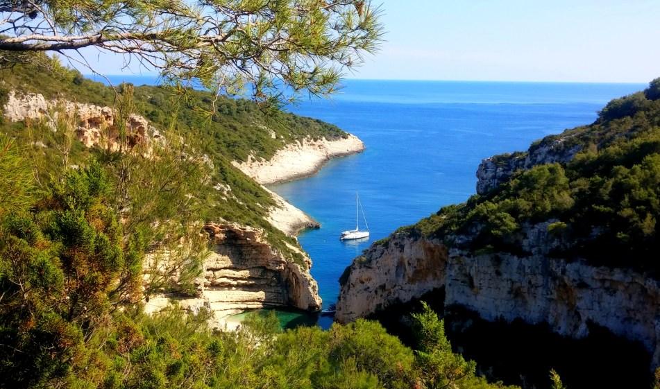 Stiniva beach Vis Croatia