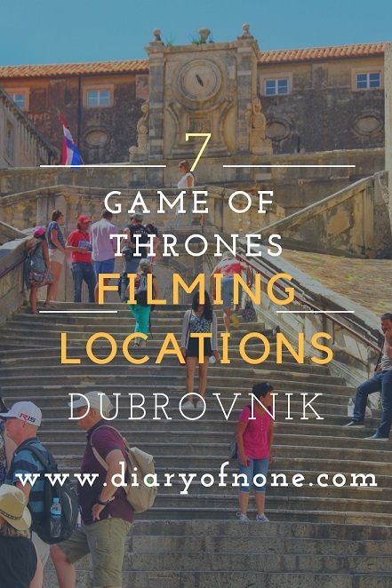 7 Game of Thrones Filming Locations Dubrovnik