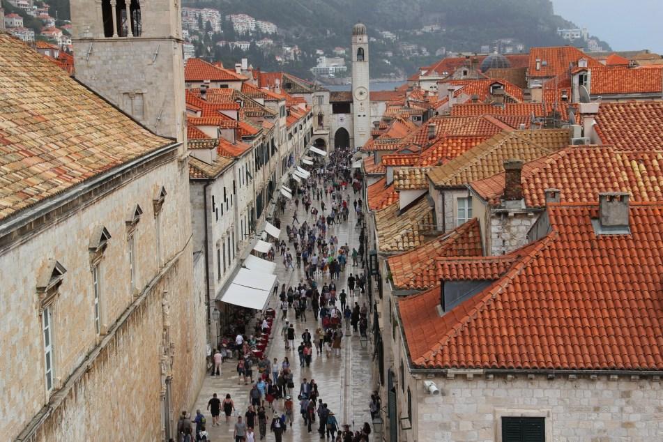 Dubrovnik main street Stradun