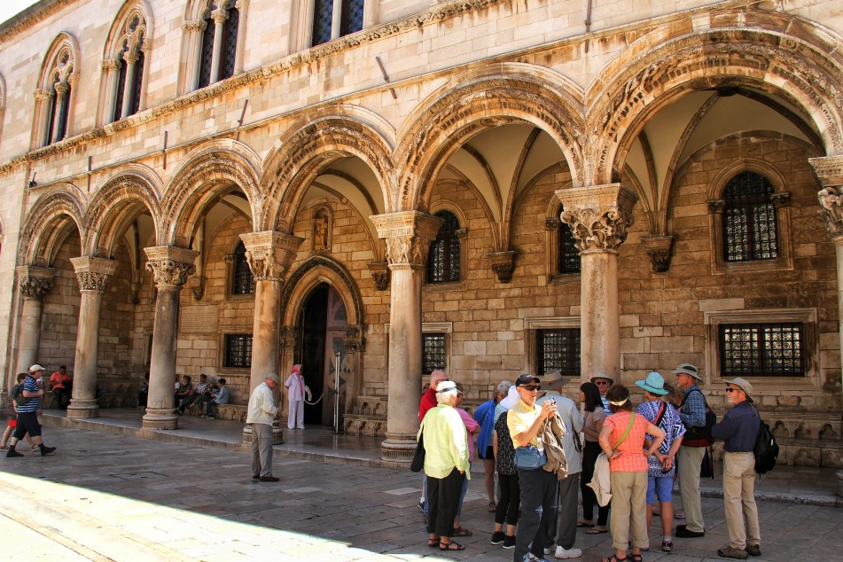 Things to do in Dubrovnik Sponza Palace