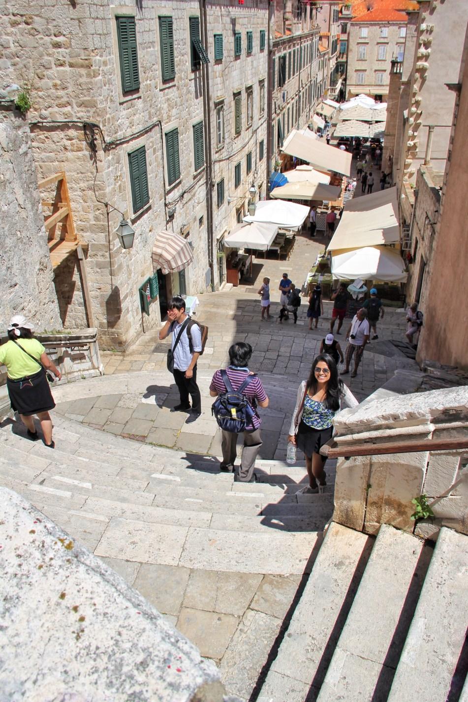 Jesuit Staircase Dubrovnik Croatia