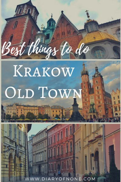 Exploring Krakow old town
