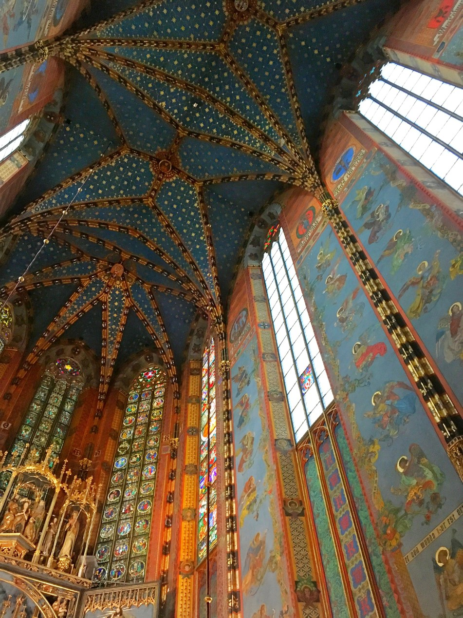 St Mary Basilica Krakow old town