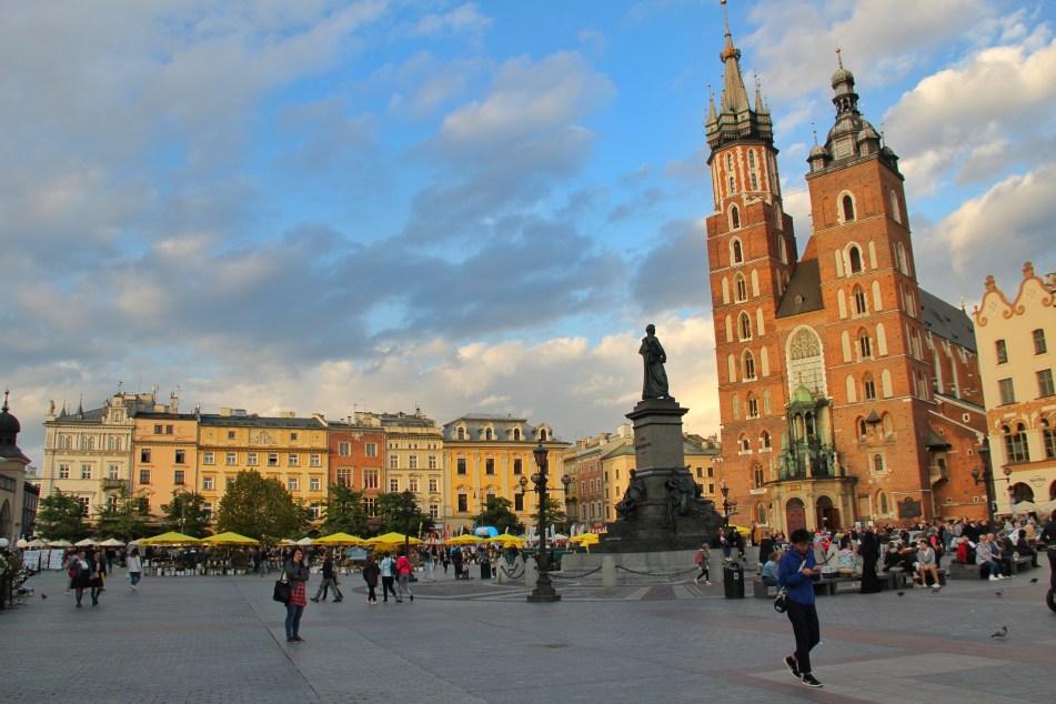 St Mary's Basilica Krakow old town