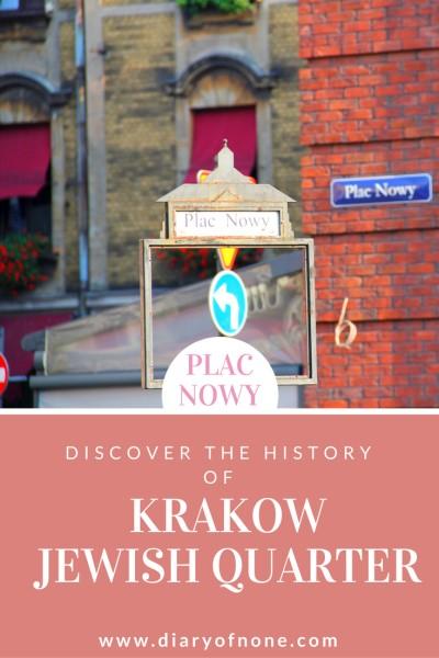 Krakow Poland Jewish Quarter