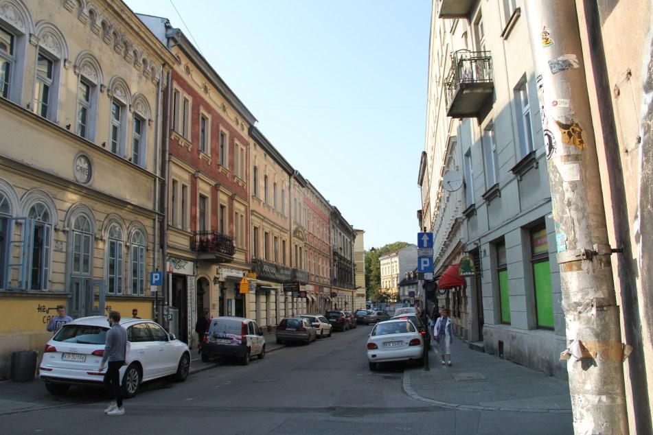 Krakow Kazimierz Jewish quarter