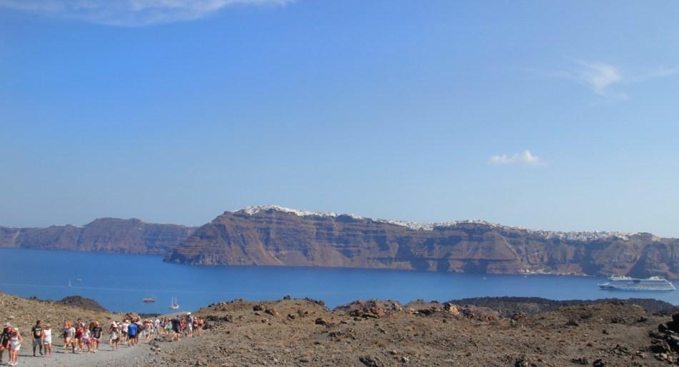 Nea Kameni Santorini