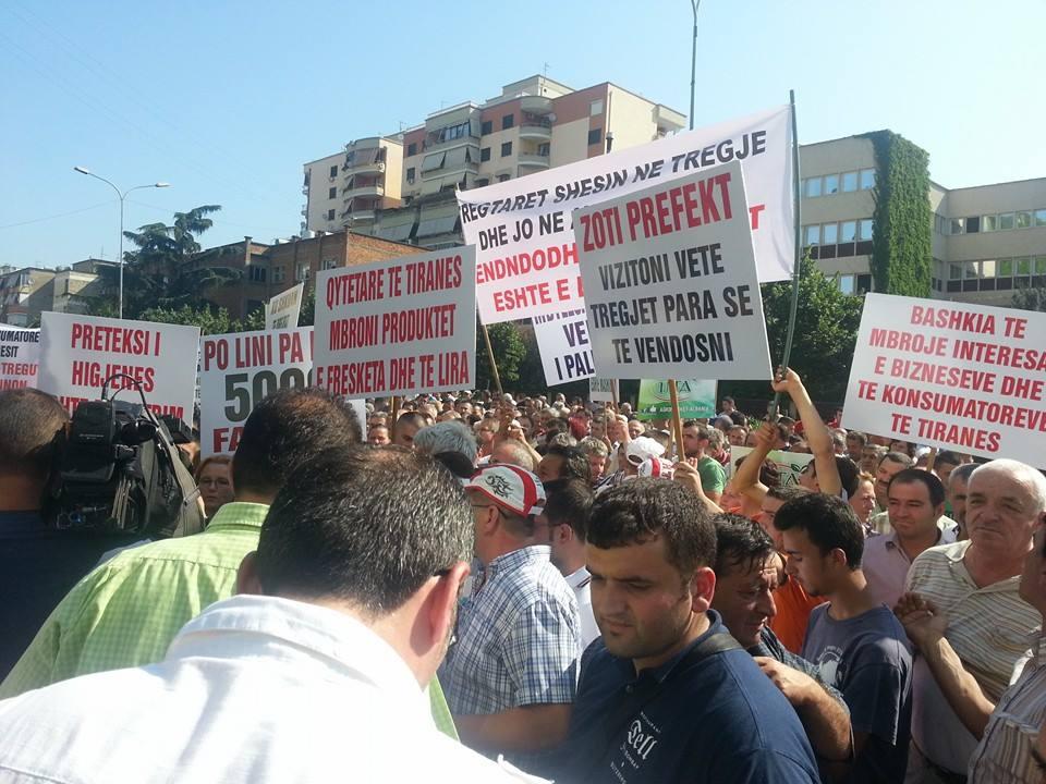 Nga protesta e sotme para Prefektures