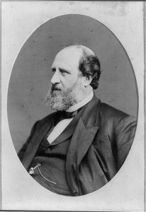 "William Macy (""Boss"") Tweed. Foto kortezi Libraria e Kongresit."