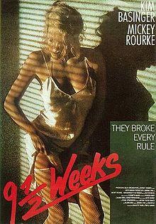 Posteri i filmit Nëntë Javë e Gjysmë. Wikimedia/Commons.