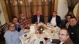Nga darka e Kryeministrit ne fund te vitit 2015 me gazetaret!