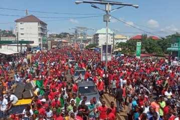 Conakry/Acte 3 des manifestations du FNDC : La mobilisation ne faiblit pas