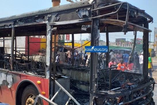 4ème manifestations du FNDC : Deux bus Albayrak paient les frais