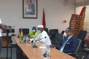 Guinée/Lutte contre le Covid-19 : la Fondation KPC pour l'Humanitaire fait un important don