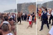 Émeute sur une plage belge à cause des mesures imposées contre la pandemie - vidéo