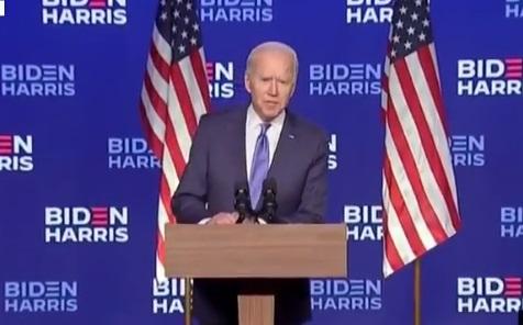 Présidentielle américaine: Biden enfile son costume de président élu, sans revendiquer la victoire