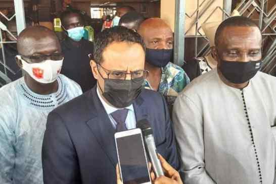 Élections CAF : le Mauritanien Ahmed Yahya est arrivé à Conakry