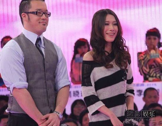 Justin Yang and Jiang Yu on popular Chinese dating show Fei Cheng Wu Rao (If You Are The One)