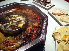 Chongqing hot pot.