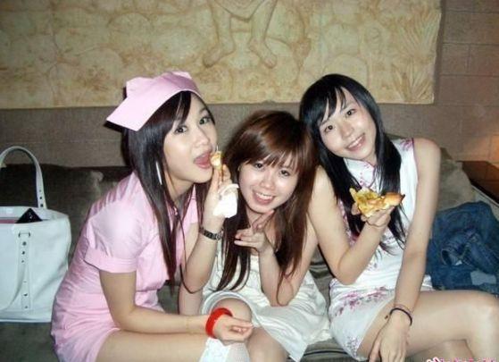 Chinese KTV girls.
