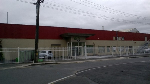The fish oil factory where I worked.