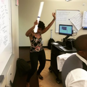 When trap music comes on during your social justice, dismantling systems of oppression workshop. Ayyyyyyyyyyy! Snapped by Kai Greene on June 18, 2015, Detroit, MI, #AMC2015