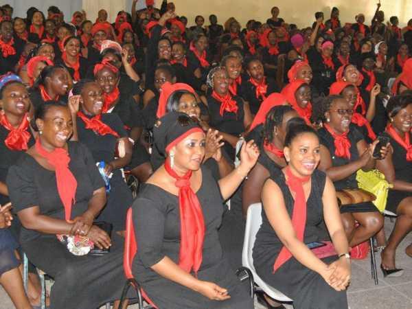 Warembo na Uhuruto launch at Tononoka Methodist Hall on June 1 JOHN CHESOLI