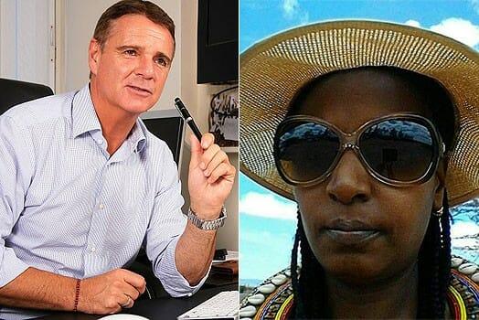 LEFT: Mr Richard Alden. RIGHT: The deceased Ms Grace Wangeci. PHOTOS | COURTESY