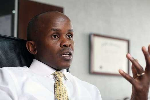 Centum Investment chief executive officer James Mworia during the interview at his office with Daily Nation on February 3, 2016. PHOTO | FILE