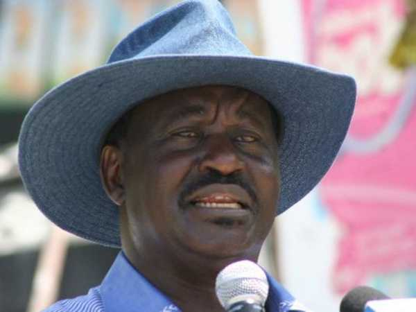 ODM leader Raila Odinga. /FILE