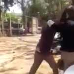 VIDEO:POLICE OFFICER CAUGHT ON CAMERA ASSAULTING AND INJURING CIVILIAN
