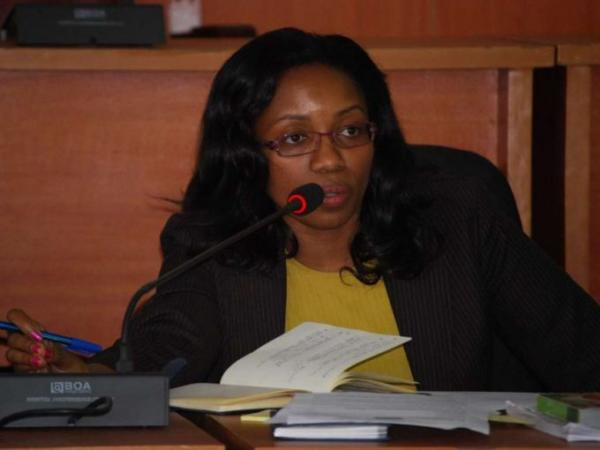 Nakuru Speaker Susan Kihika during a past session at the county assembly. /FILE