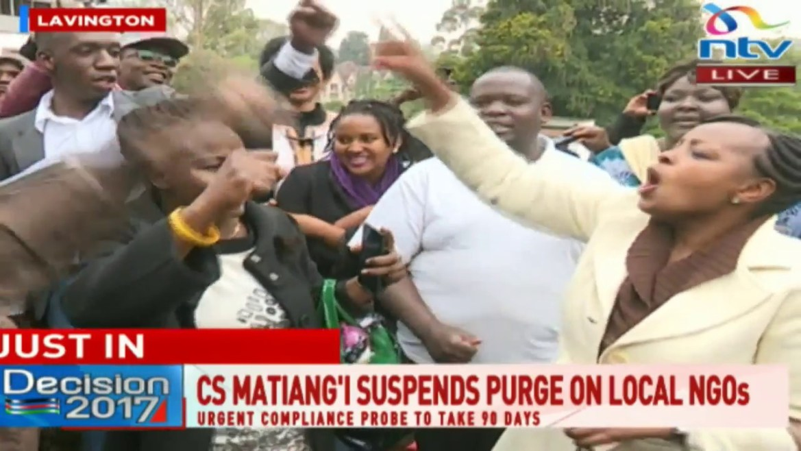 Image result for CS Fred Matiang'i suspends action against two NGOs WEDNESDAY AUGUST 16 2017