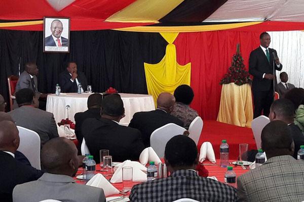 Kenya's Ambassador to Turkey Kiema Kilonzo