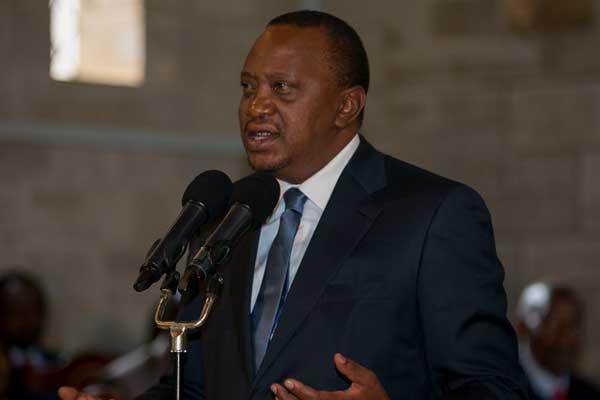 President Uhuru Kenyatta is expected to travel