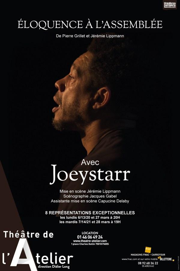 JoeyStarr dans Eloquence à l'Assemblée.