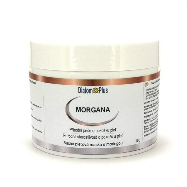 Morgana pleťová maska téglik 50 gr