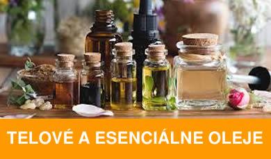 Esenciálne pleťové a telové oleje