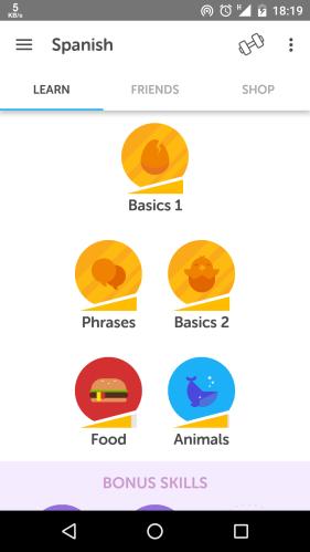 Skill di English Spanish