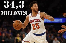 9. Derrick Rose (New York Knicks)