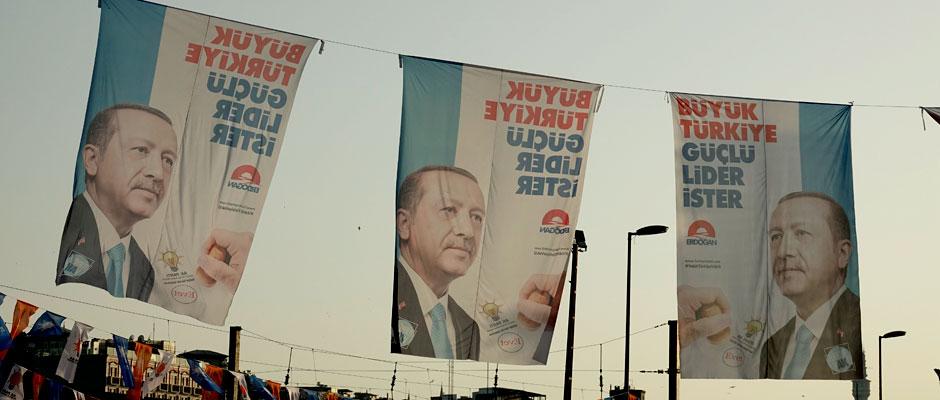 Tormenta en Turquía