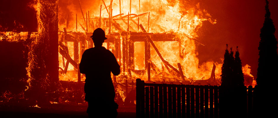¿Por qué arde California?