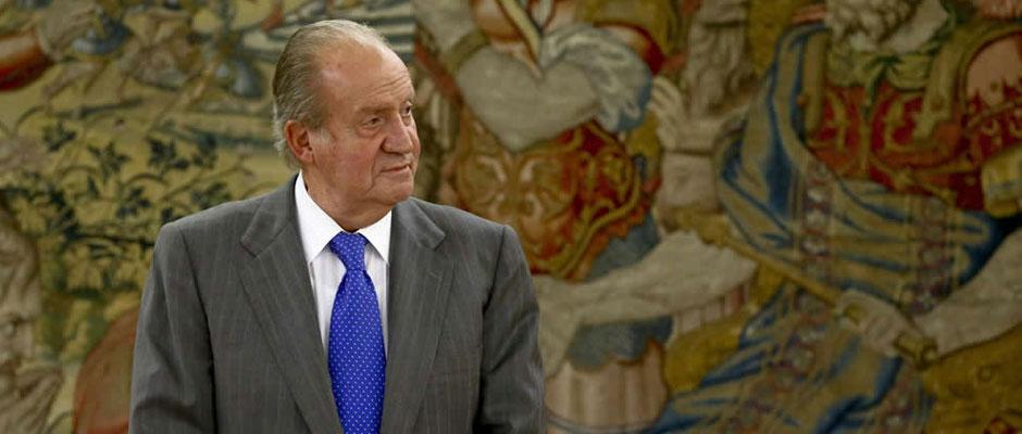 Juan Carlos y la mujer del César