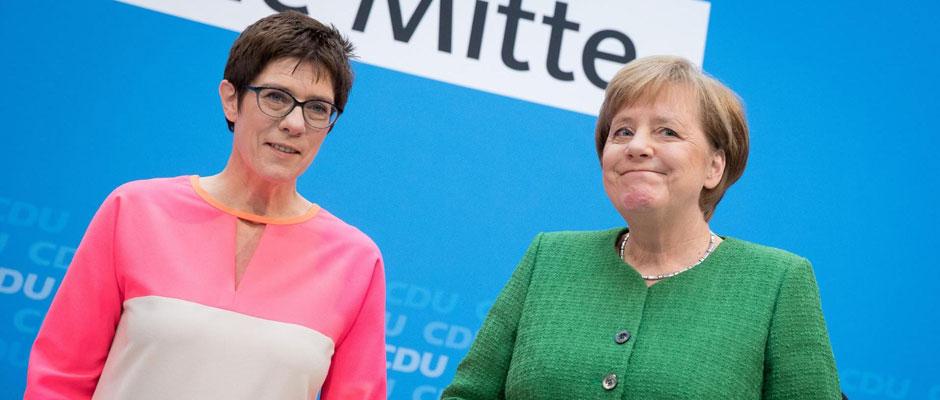Más Merkel, por favor