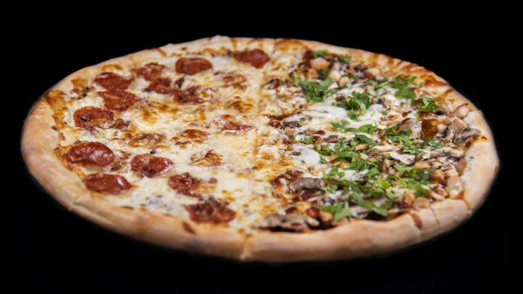 Create Your Own 1/2 and 1/2 Specialty Pizza